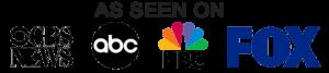 As Seen On Fox, ABC, CBS and NBC